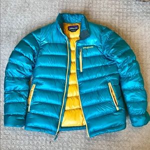 Patagonia Down Puffer Coat Size Medium